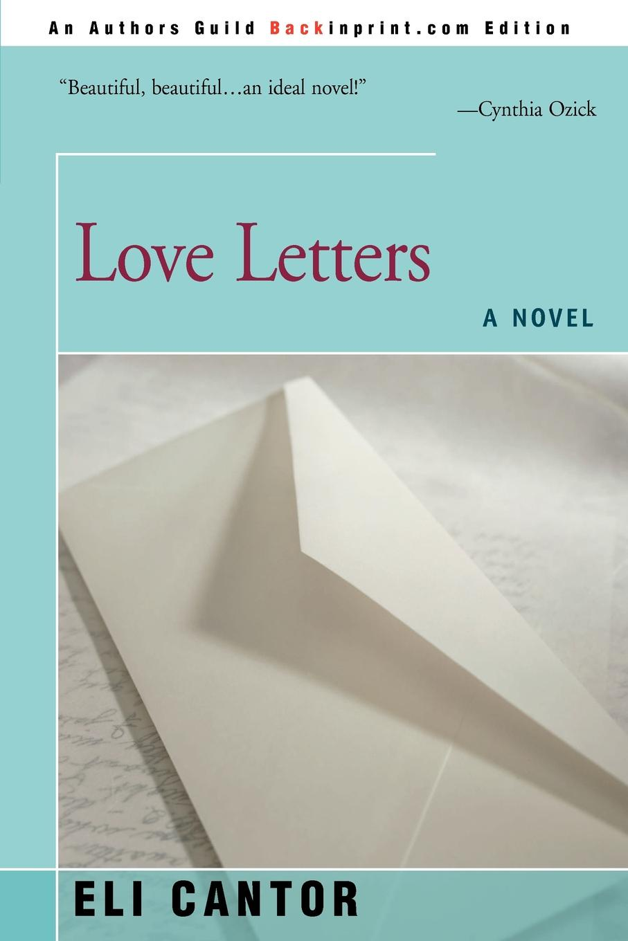 Eli Cantor Love Letters love letters 2019 09 25t19 00