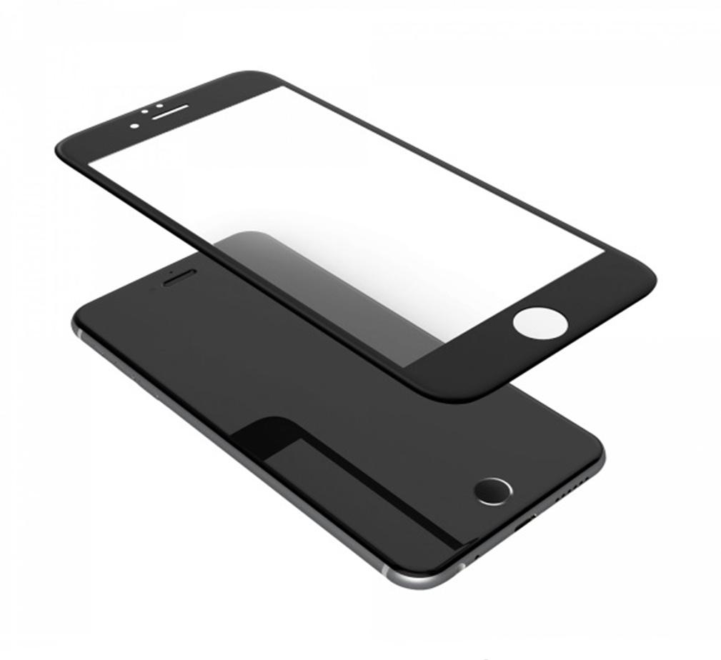 Защитное стекло ТЕХПАК 5D для iPhone 6 Plus, черный
