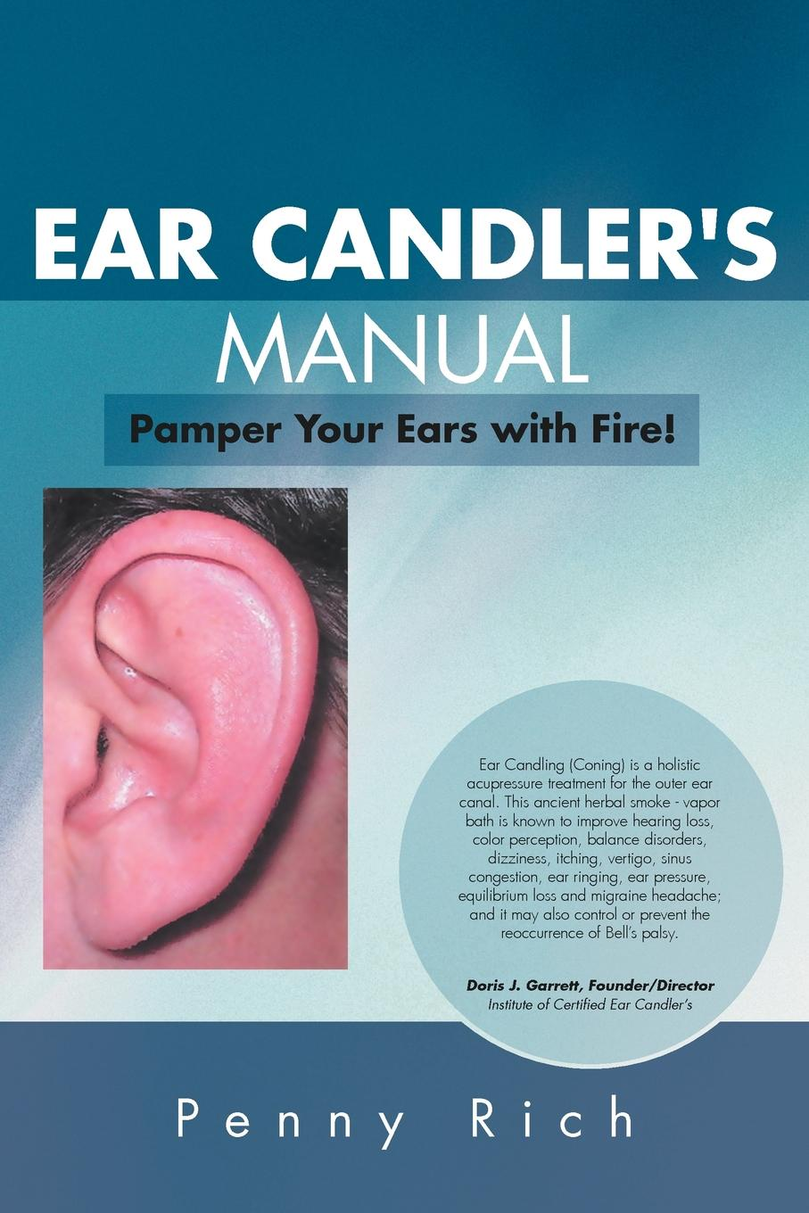 Penny Rich Ear Candler's Manual. Pamper Your Ears with Fire! cute striped rabbit ears hairband
