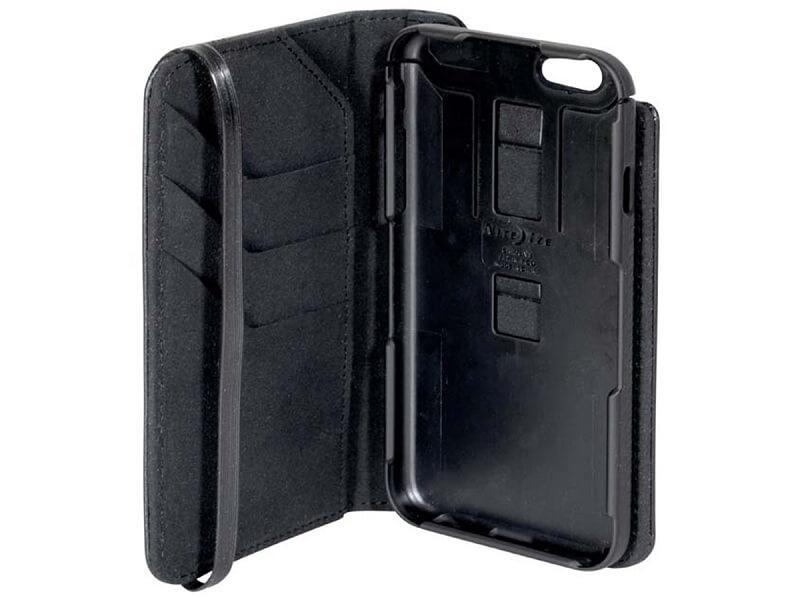 Чехол для сотового телефона NiteIze Чехол для телефона Nite Ize Connect Wallet Case iPhone 6/6S, черный nite ize niteize connect wallet case для apple iphone 6 6s чехол книжка поликарбонат черный