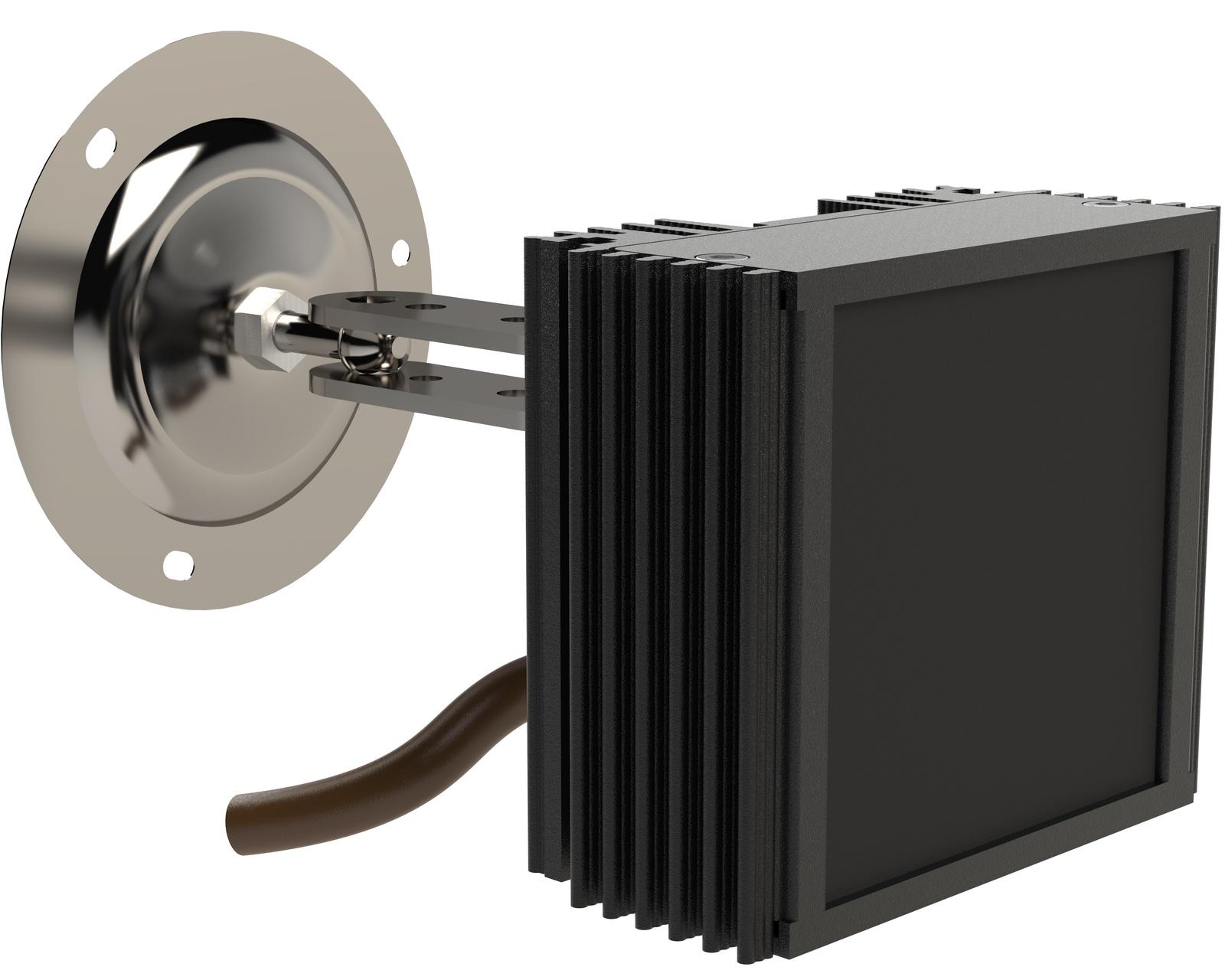Инфракрасный прожектор Microlight IR Helios M-30/32 Узкоугольный 30 град. Дальность до 80 метров ночного видения Уличный IP67