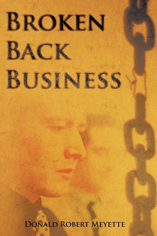 Фото - Donald Robert Meyette Broken Back Business contrast lace keyhole back blouse
