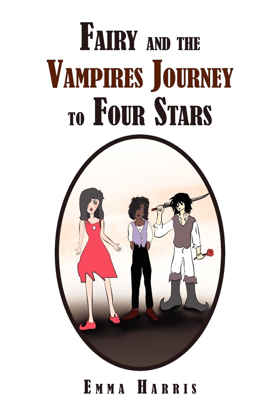 Emma Sarah Harris Fairy and the Vampires Journey to Four Stars melusine vol 3 the vampires ball