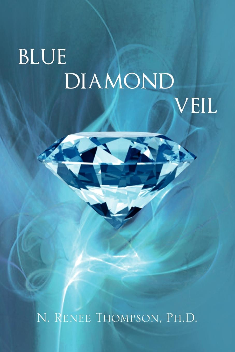 N. Renee Ph. D. Thompson Blue Diamond Veil steel d blue