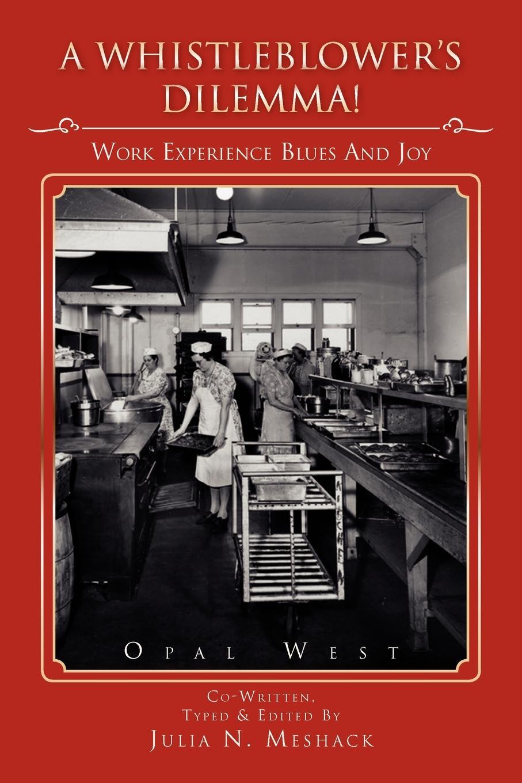 Opal West A Whistle Blower's Dilemma!. Work Experience Blues & Joys
