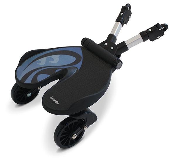 Bumprider подножка для второго ребенка цв. Blue аксессуары для колясок litaf подножка для второго ребенка e z step