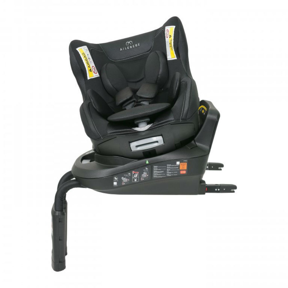 Ailebebe Carmate автокресло KURUTTO 3i Isofix (0-18 кг) цв. черный автокресло японское ailebebe