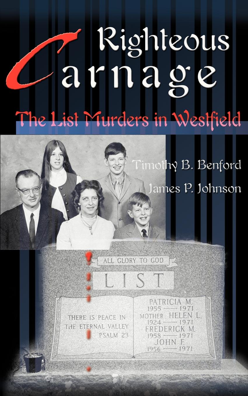 Timothy B. Benford, James P. Johnson Righteous Carnage. Reality Show
