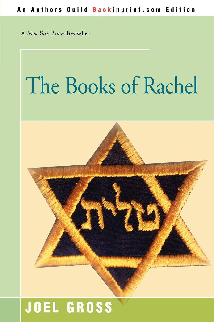 The Books of Rachel. Joel Gross