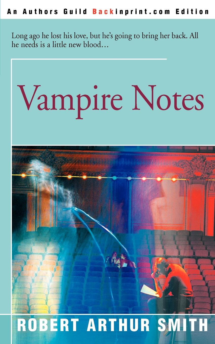 Robert Arthur Smith Vampire Notes friends 1 global students book
