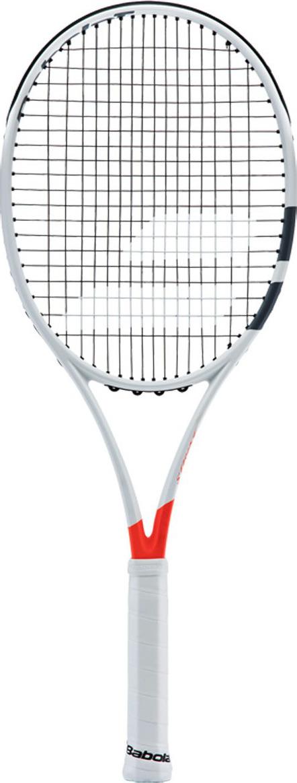 Ракетка для тенниса Babolat Pure Strike 100, без натяжки, ручка 3, белый, красный