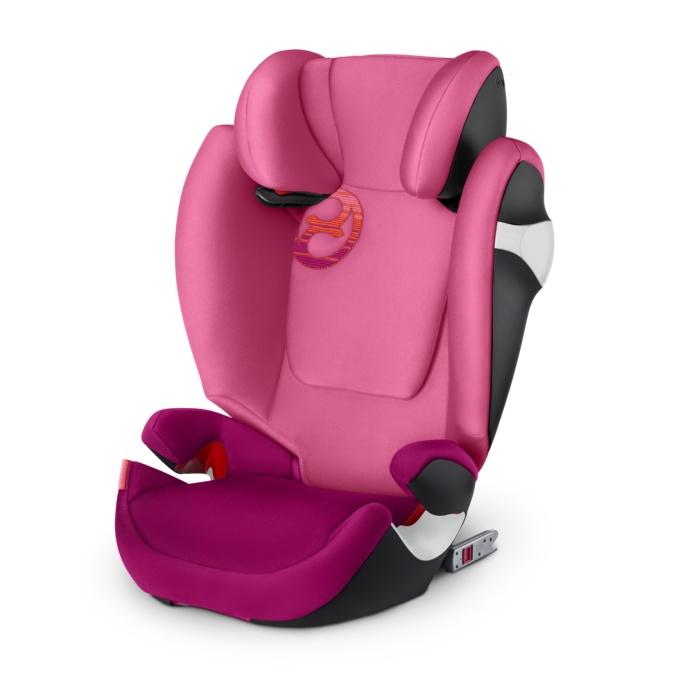 Cybex Автокресло Solution M-Fix Passion Pink гр. 2/3 ( 15-36 кг) автокресло cybex solution 2 fix от 15 до 36 кг 518001581 красный