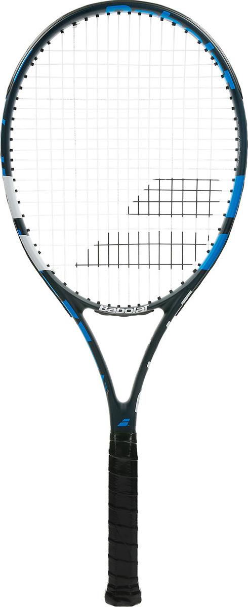 Ракетка для тенниса Babolat Evoke 105, с натяжкой, ручка 3, темно-синий, белый