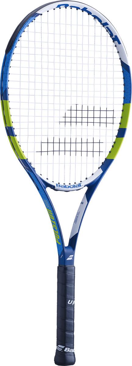 Ракетка для тенниса Babolat Pulsion 102, с натяжкой, ручка 3, синий, зеленый, белый
