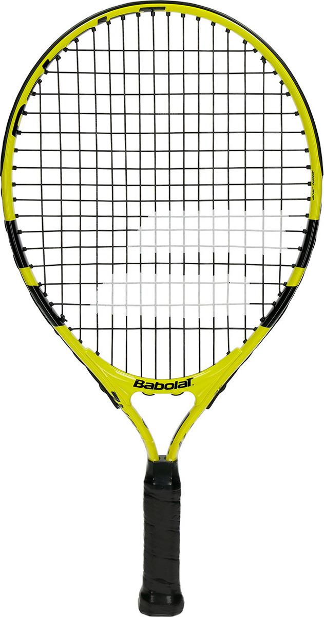 Ракетка для тенниса Babolat Nadal Junior 19, ручка 0000, черный, желтый