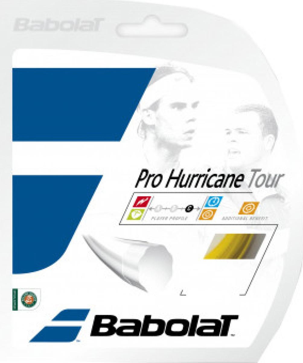 Теннисная струна Babolat Pro Hurricane Tour 130/16, желтый, 12 м