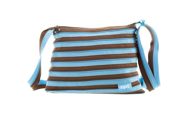 Сумка Medium Shoulder Bag, цвет голубой/коричневый сумка medium shoulder bag zipit сумка medium shoulder bag page 11