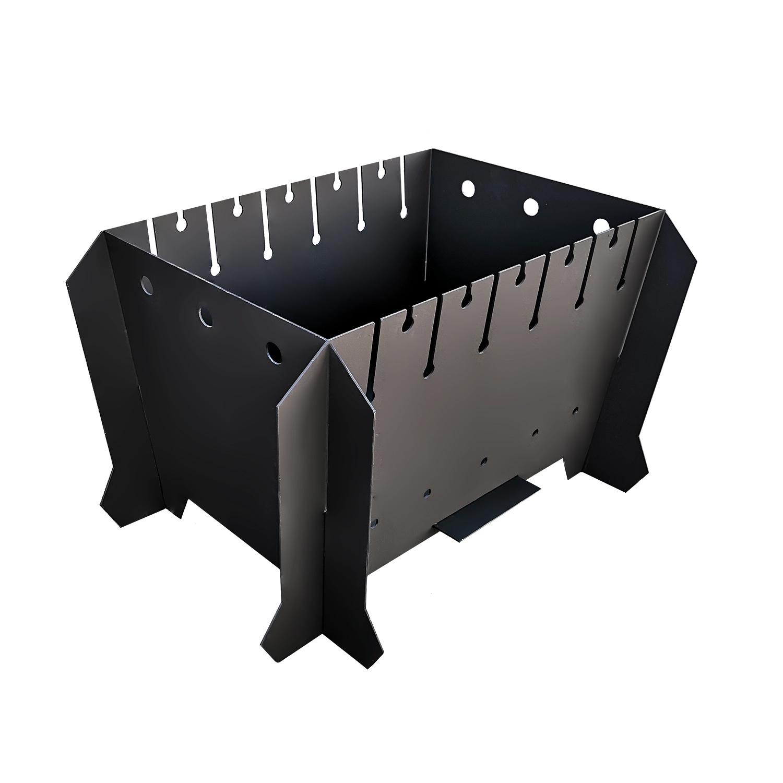 Мангал разборный (540х400х310 мм) окрашенный цены