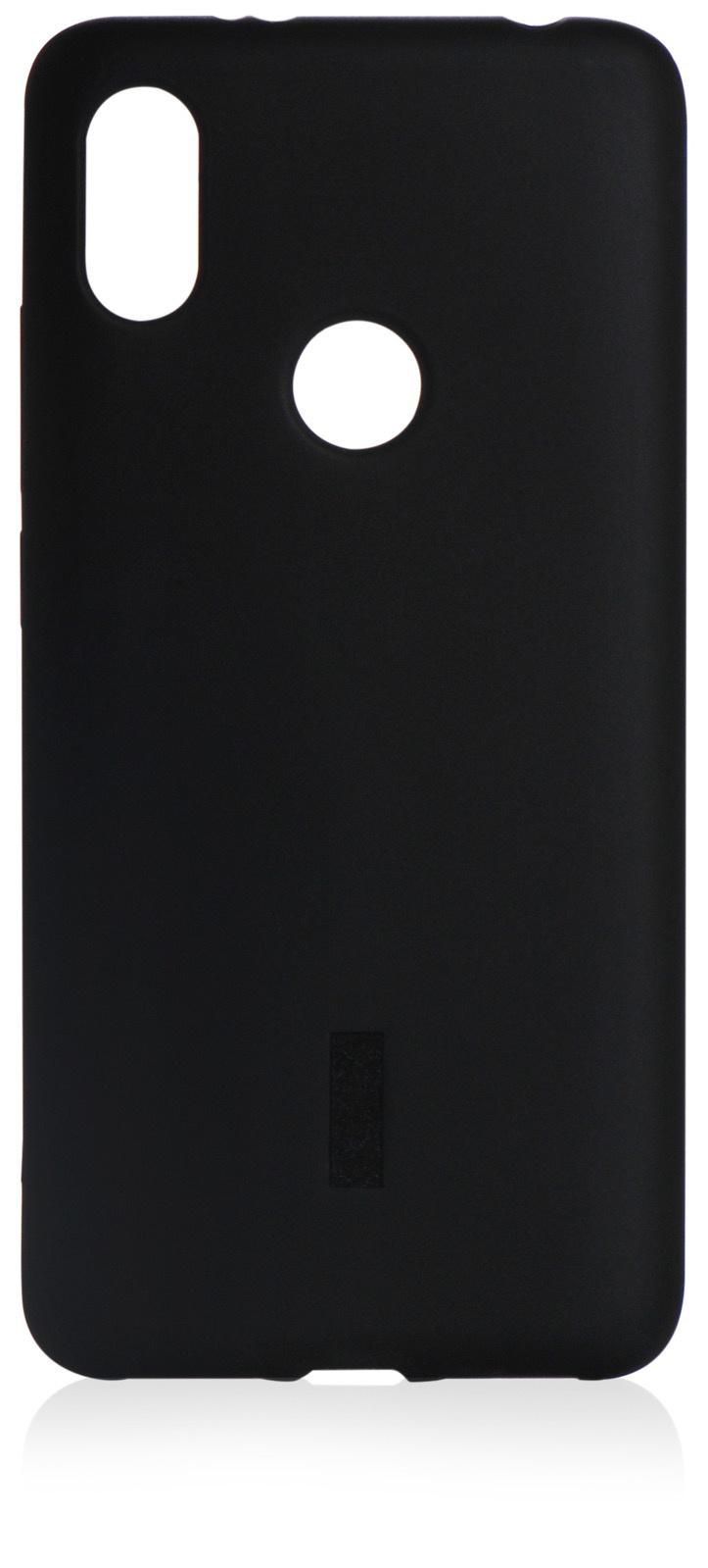 Чехол для сотового телефона iNeez силикон матовый + пленка (BOX) для Xiaomi Redmi S2, черный
