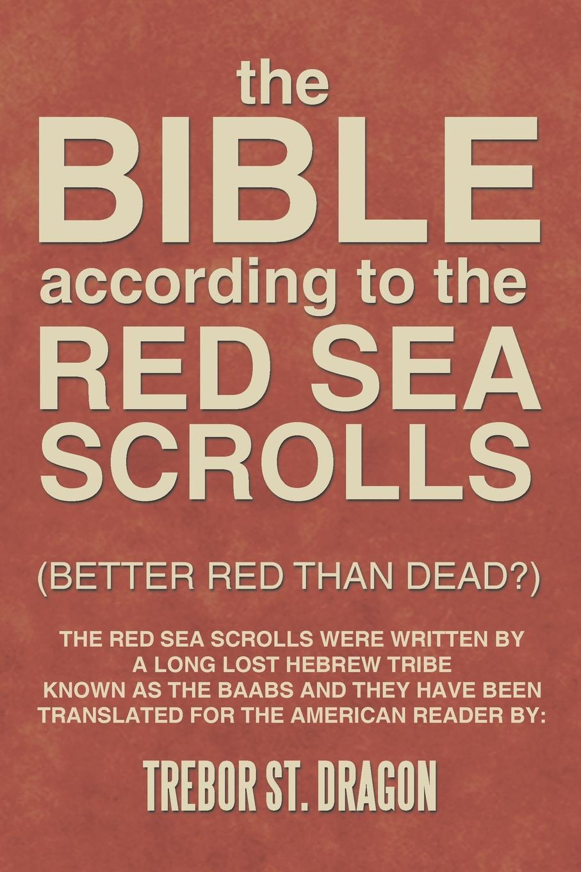 Trebor St Dragon Red Sea Scrolls winter sea of red 200 68