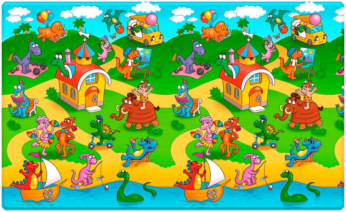"""Funkids / Коврик детский игровой односторонний """"Big-10"""" арт. FD-B10-1S-005"""