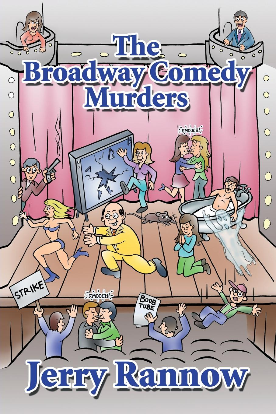 Jerry Rannow The Broadway Comedy Murders broadway bw 851 811