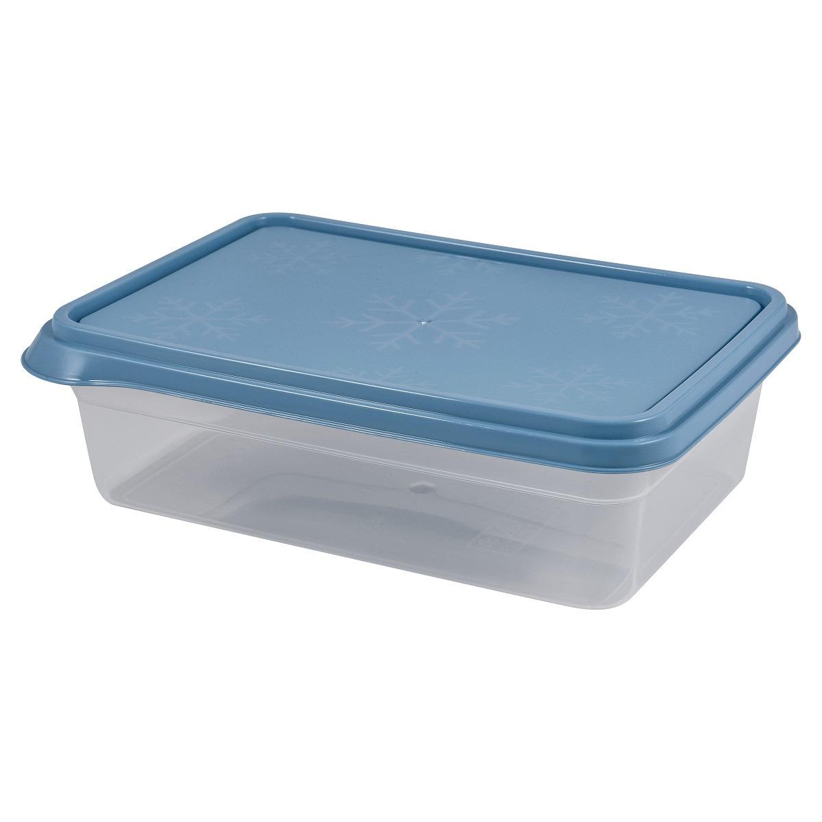 Контейнер пищевой Plast Team Bergen, PT1141-15, туманно-голубой, 2,6 л контейнер пищевой plast team цвет голубой прозрачный 0 6 л