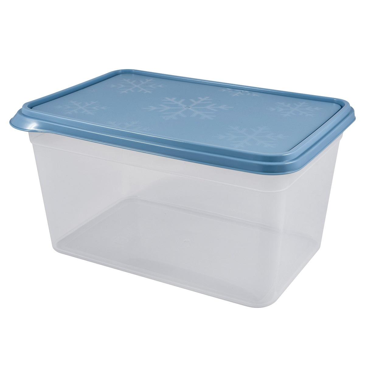 Контейнер пищевой Plast Team Bergen, PT1142-12, туманно-голубой, 4,5 л контейнер пищевой plast team цвет голубой прозрачный 0 6 л