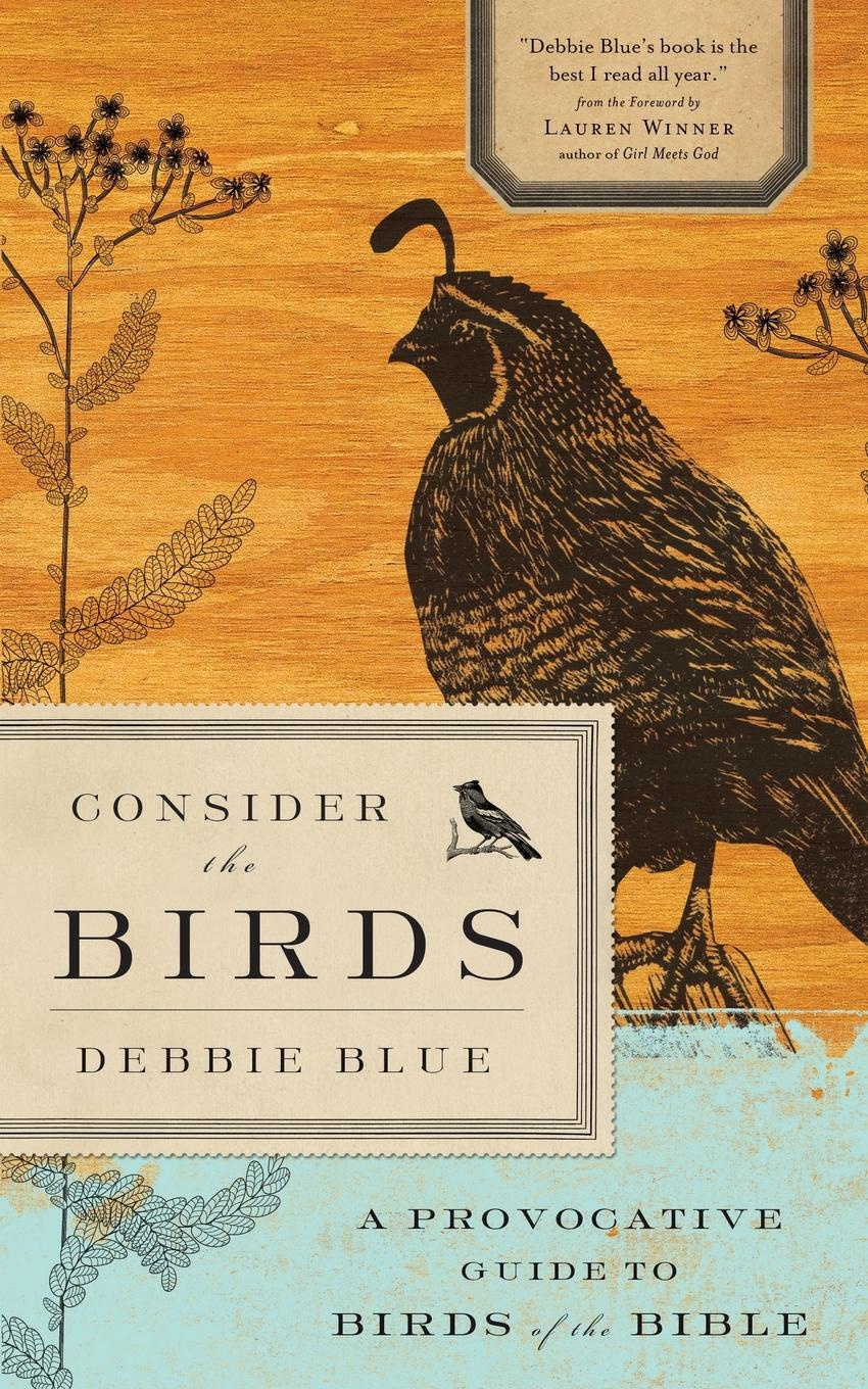 Debbie Blue Consider the Birds. A Provocative Guide to Birds of the Bible remarkable birds