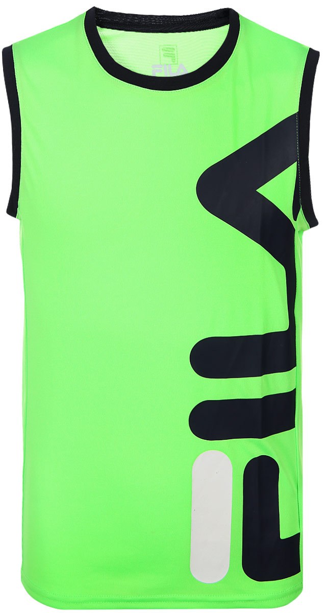 Футболка Fila Boys' Sports Tank Top lace insert ripped tank top
