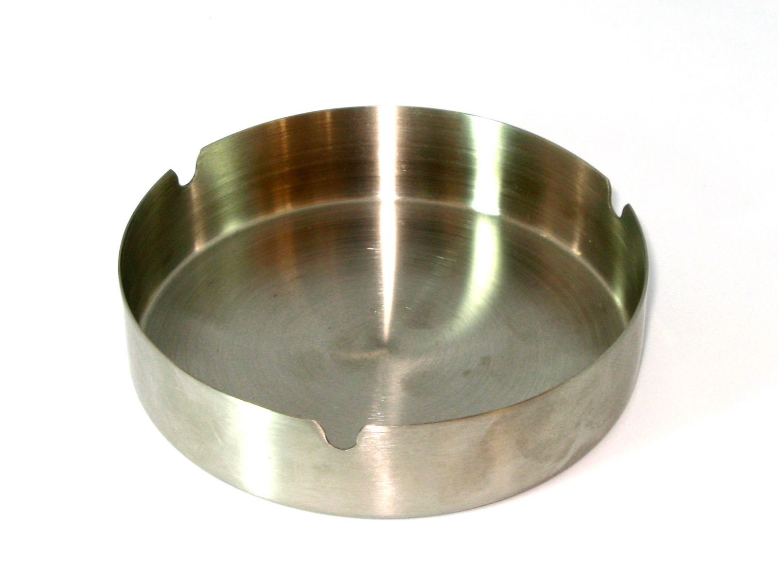 Пепельница AURORA круглая 12см, серебристый цена