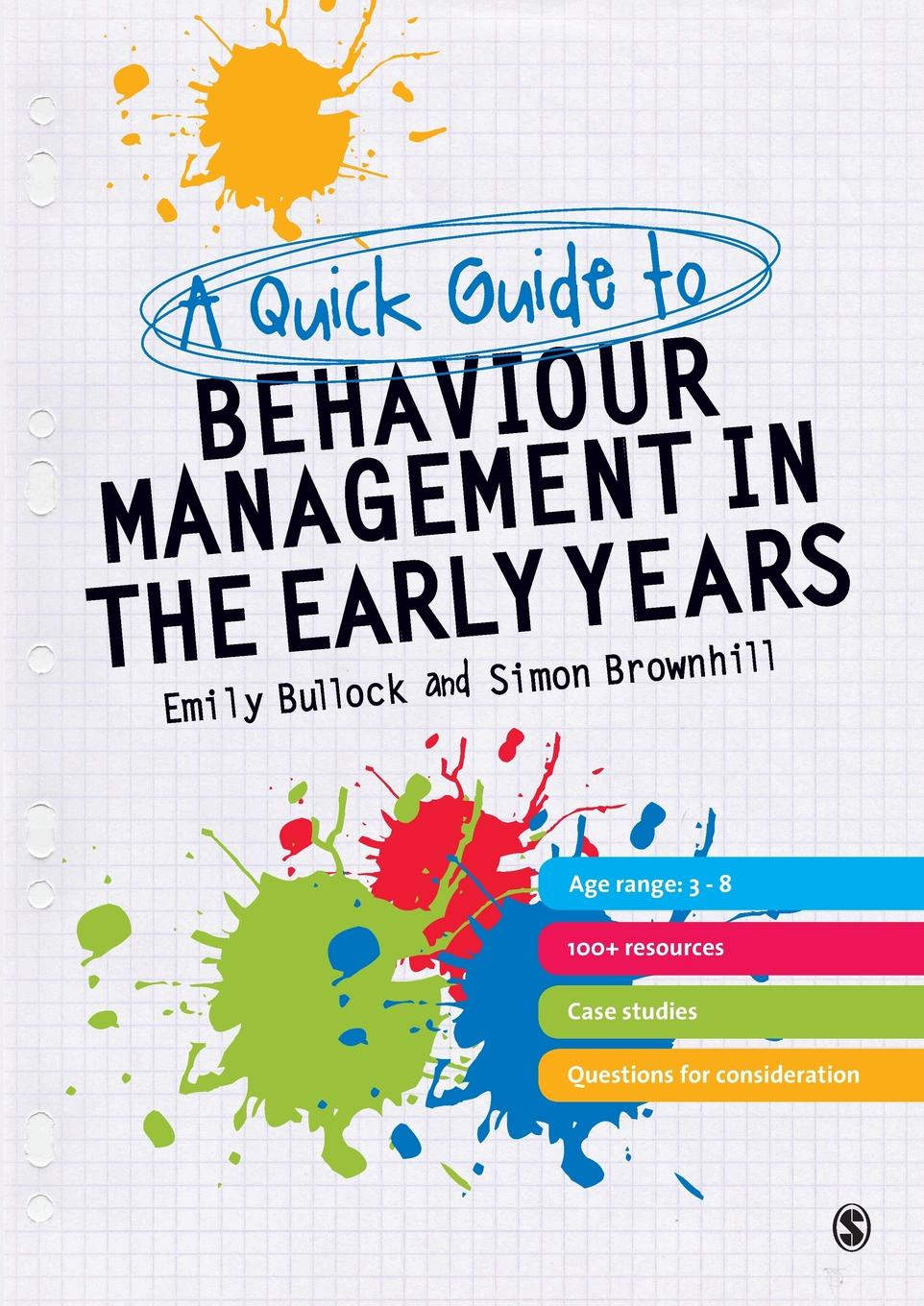 лучшая цена Emily Bullock, Simon Brownhill A Quick Guide to Behaviour Management in the Early Years
