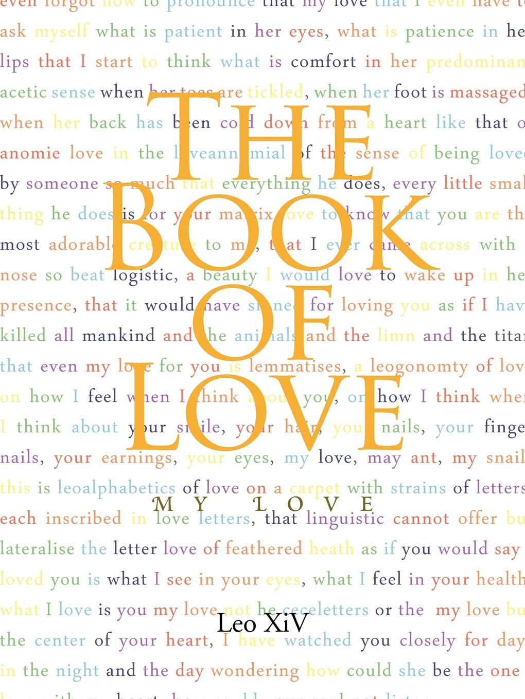 Leo XIV The Book of Love. My Love недорго, оригинальная цена
