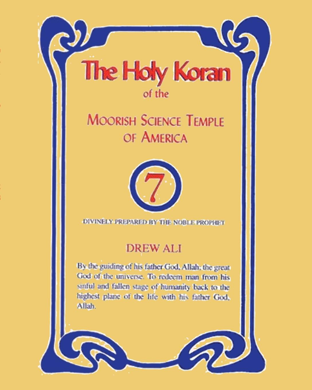 Noble Drew Ali The Holy Koran of the Moorish Science Temple of America the koran for dummies®