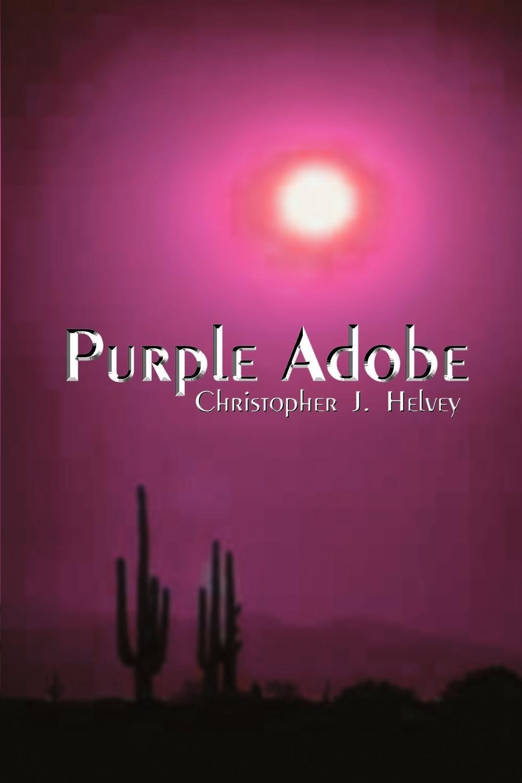 Christopher J. Helvey Purple Adobe f j christopher leatherwork
