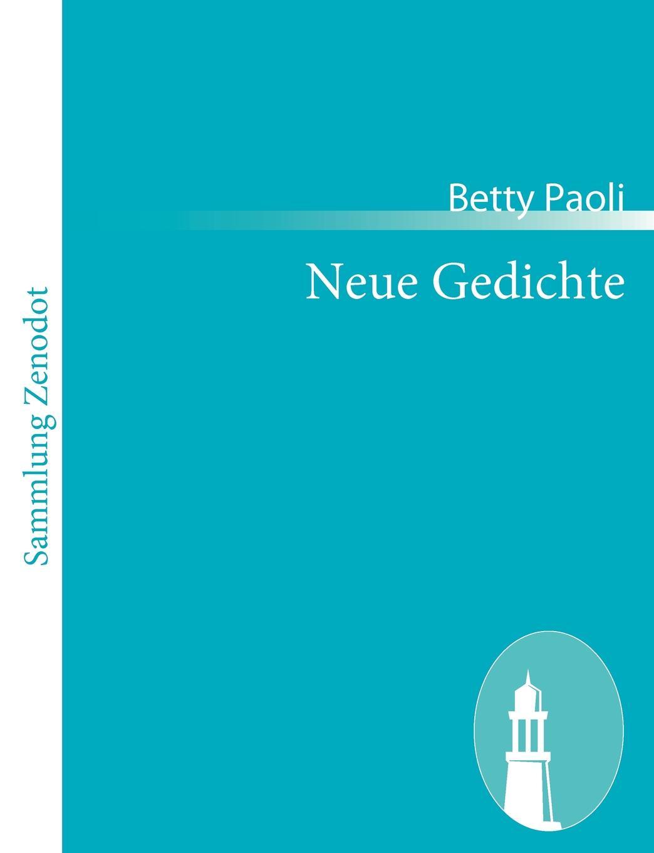 Betty Paoli Neue Gedichte