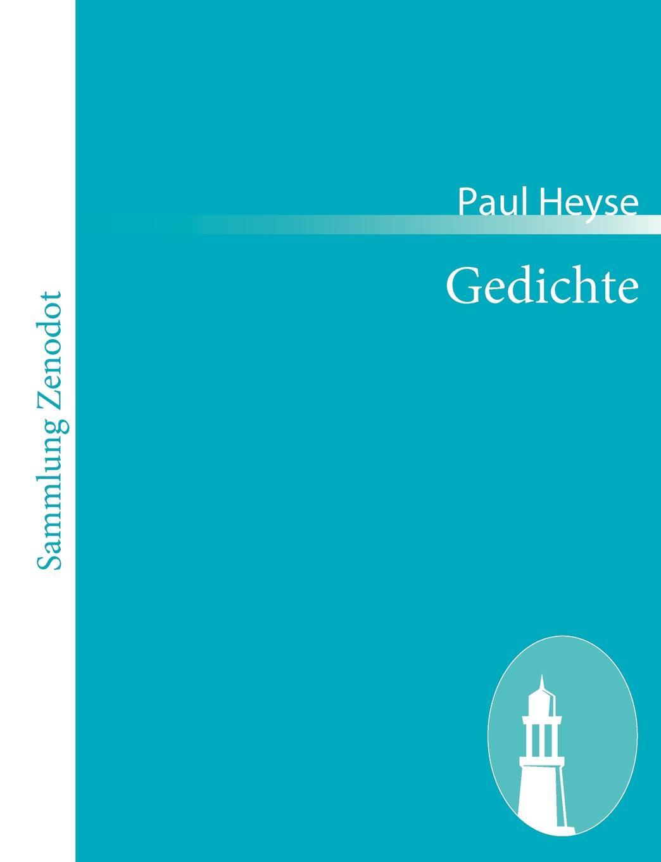 Paul Heyse Gedichte parodien schillerscher gedichte