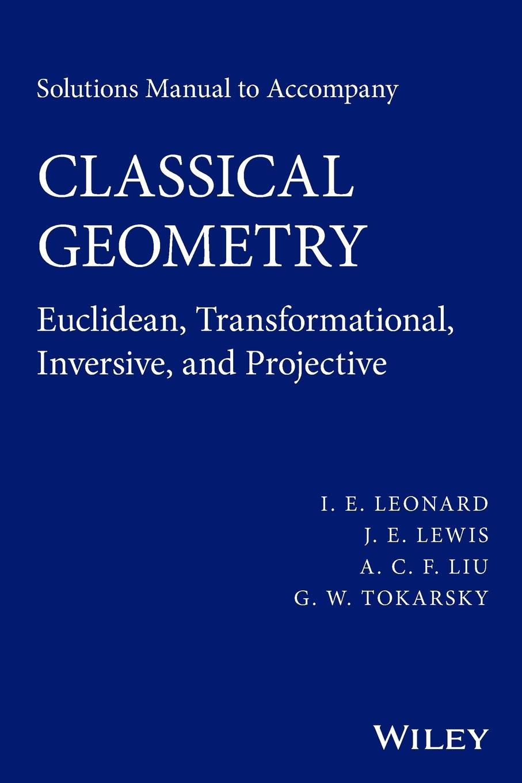 Leonard Classical Geometry SM
