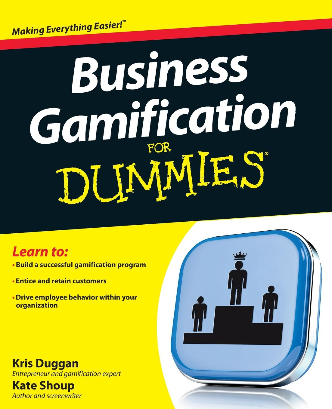 Kris Duggan Business Gamification For Dummies richard pettinger business studies for dummies