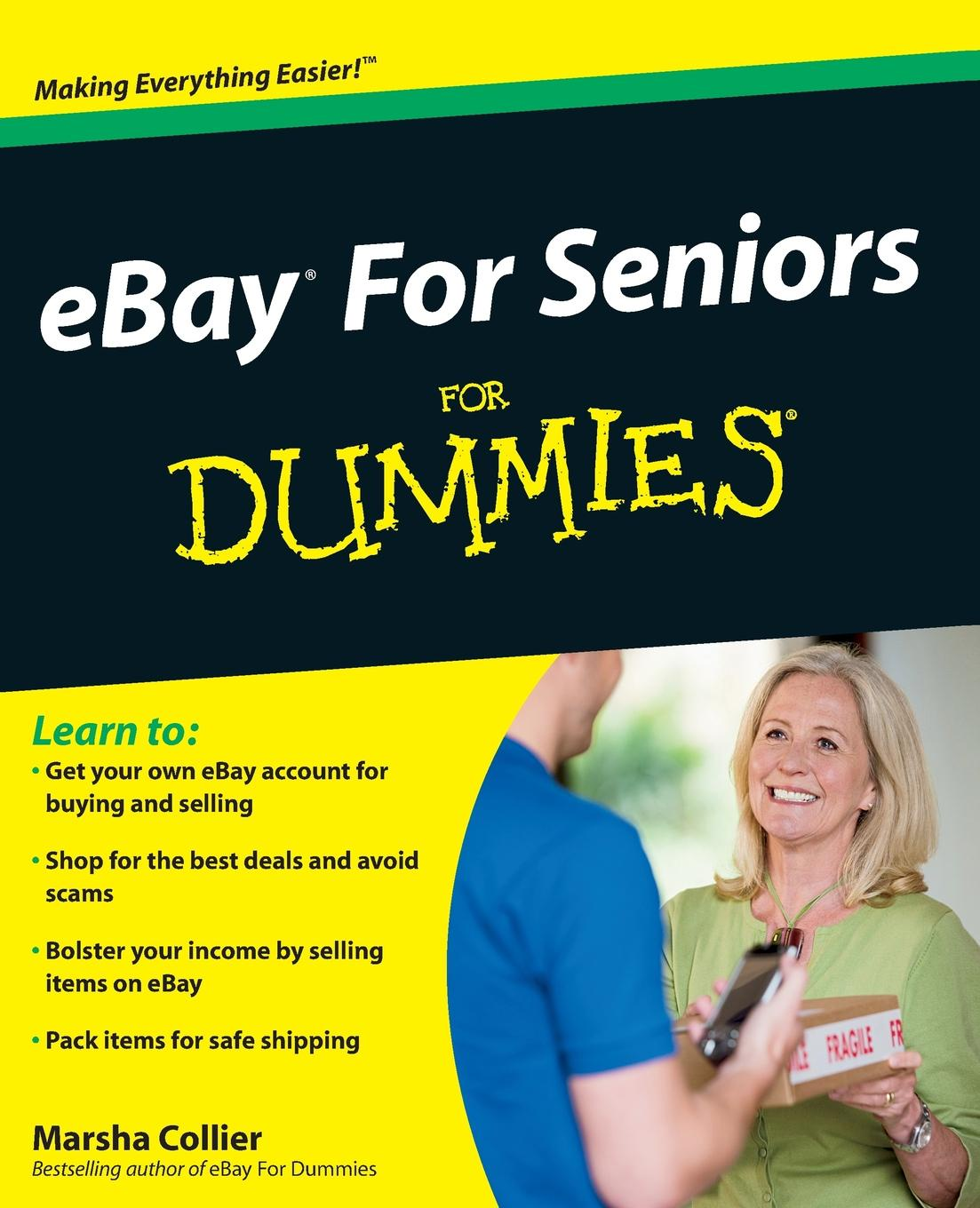 Marsha Collier Ebay for Seniors for Dummies mark lafay drones for dummies
