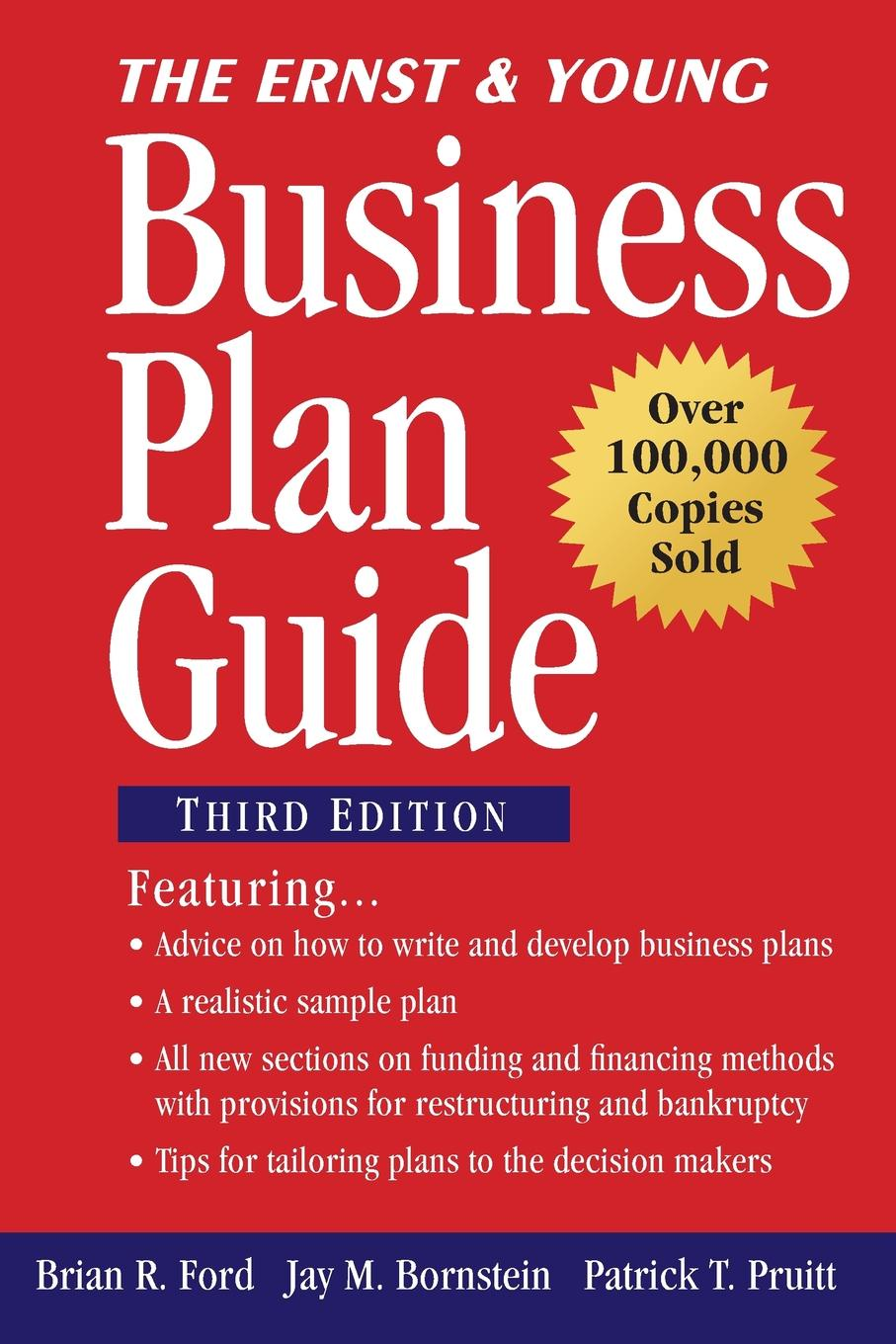 Brian R. Ford, Jay M. Bornstein, Patrick T. Pruitt The Ernst & Young Business Plan Guide horan the one page business plan uk