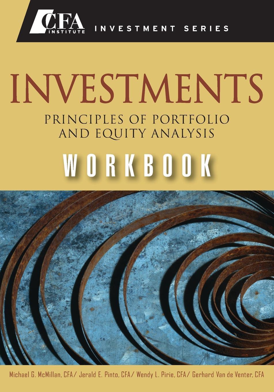 Michael McMillan Investments Workbook (CFA) cfa institute cfa program curriculum 2018 level iii