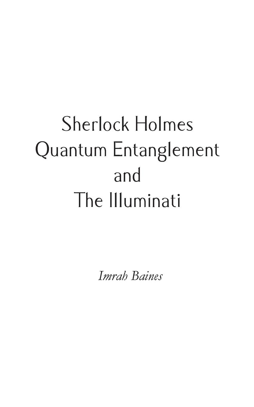 цена на Imrah Baines Sherlock Holmes, Quantum Entanglement and The Illuminati