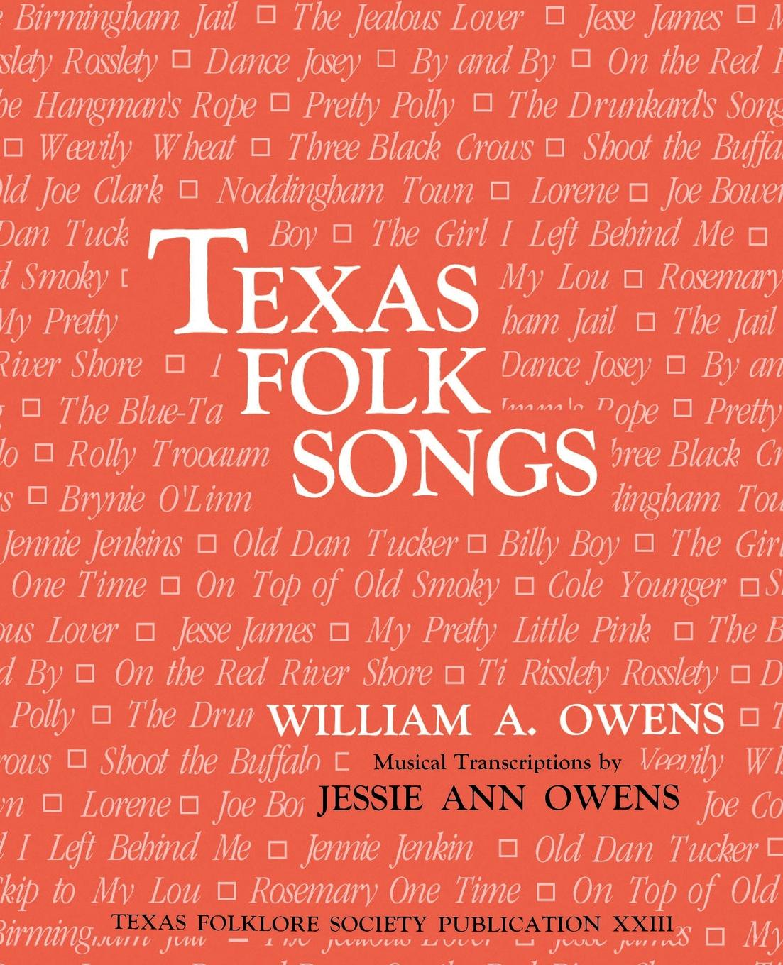 Texas Folk Songs коллектив авторов folk songs from somerset