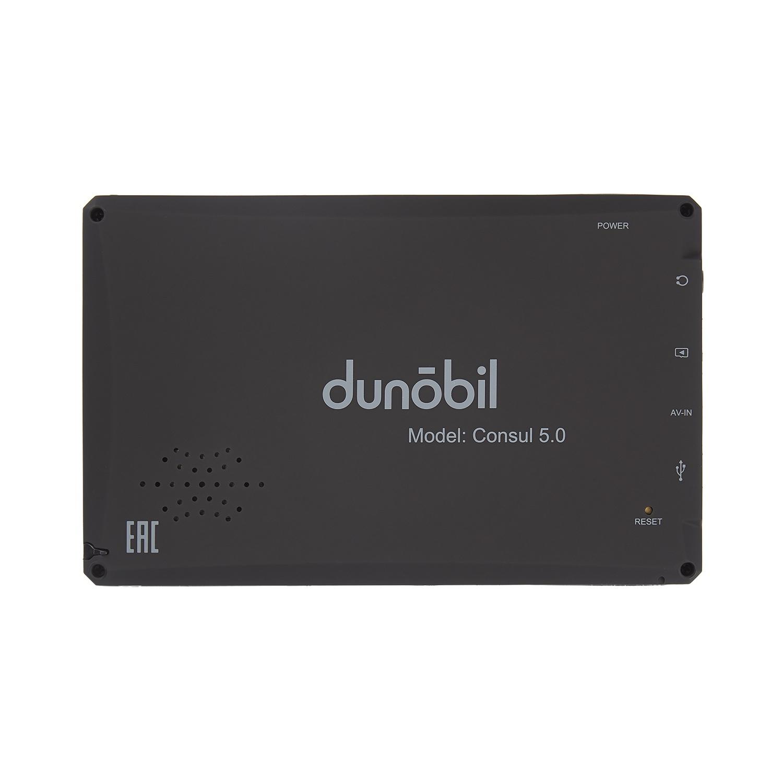 Навигатор Dunobil Consul 5. 0 Parking Monitor, черный Dunobil