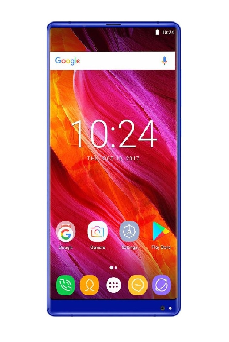 Смартфон Oukitel Mix2 64 GB, синий смартфон oukitel mix 2 64 gb черный