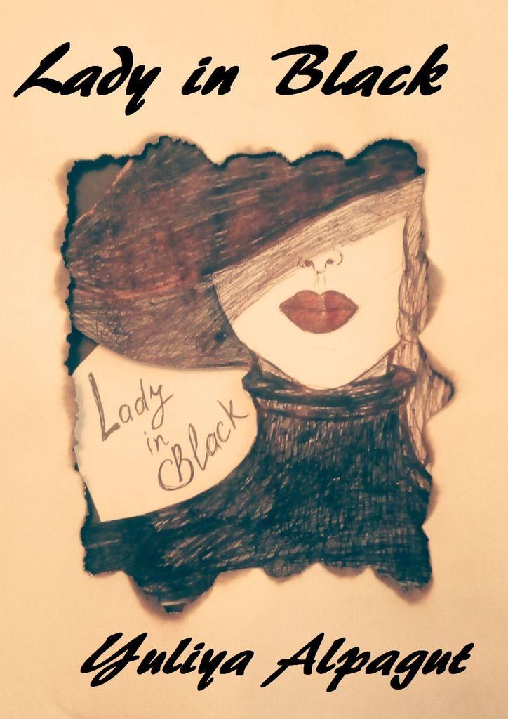 Yuliya Alpagut Lady in Black