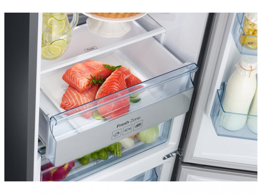 Двухкамерный холодильник Samsung RB34K6220S4/WT, стальной Samsung