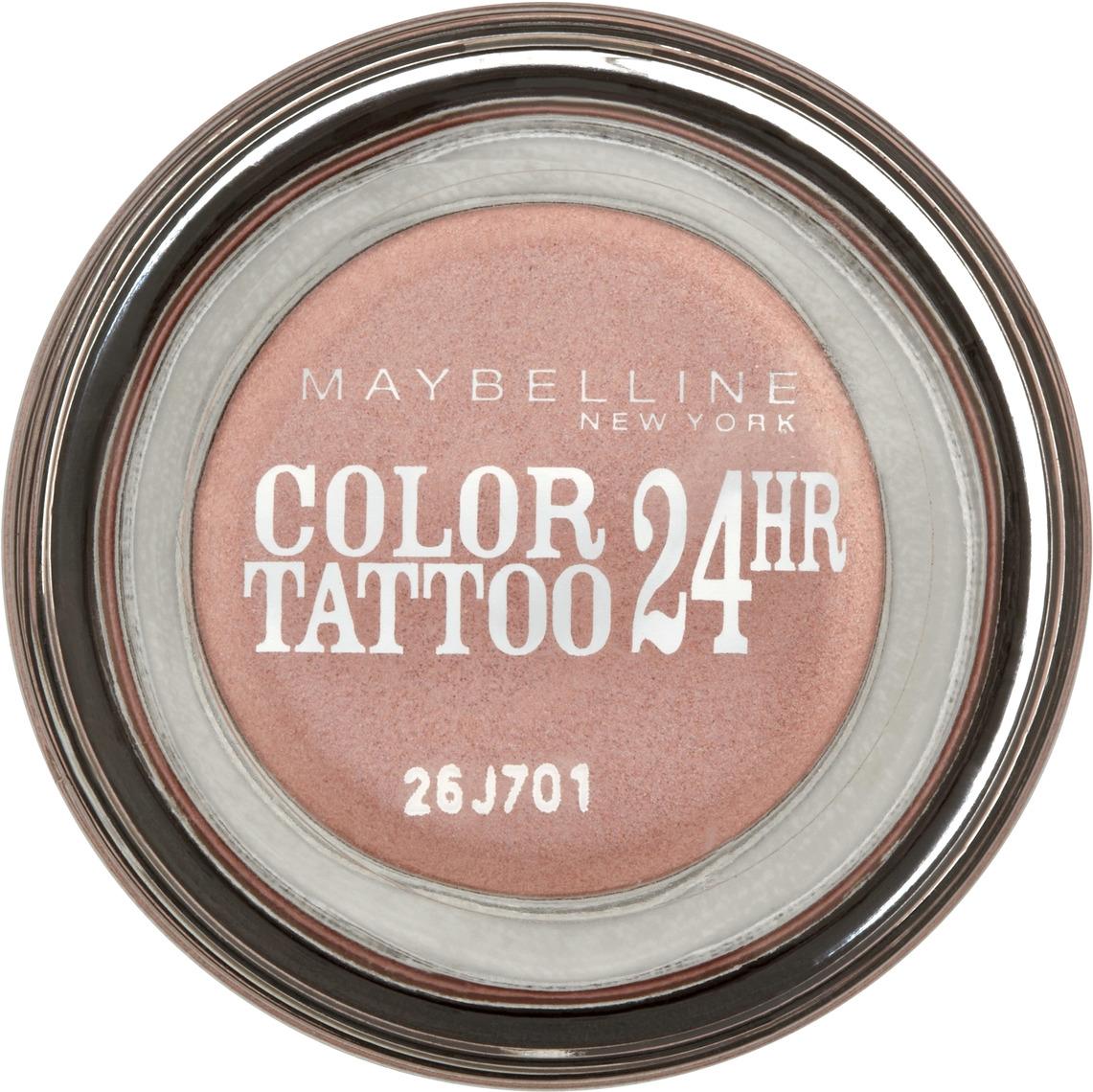 """Maybelline New York Тени для век """"Color Tattoo 24 часа"""", оттенок 65, Розовое золото, 3,5 мл"""