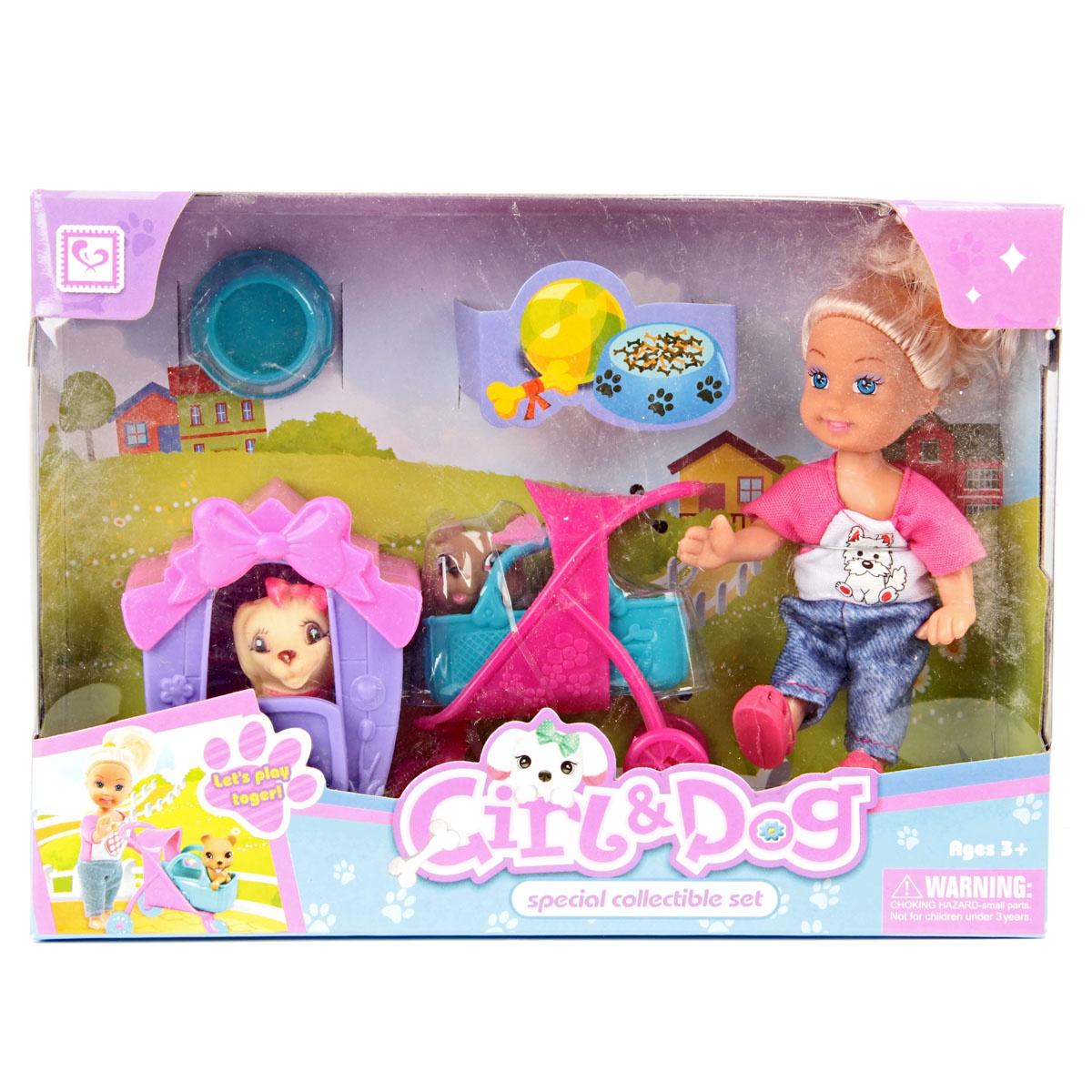 Игровой набор с куклой Veld Co 62951 veld co игровой набор с мини куклой русалка и морской конек цвет желтый розовый